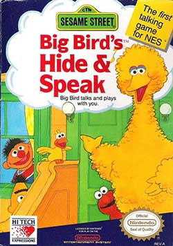 Big Bird's Hide & Speak играть онлайн