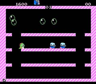 Bubble Bobble играть онлайн