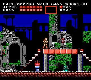 Castlevania III - Dracula's Curse играть онлайн