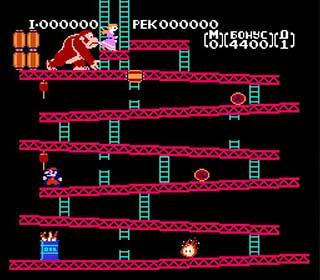 Donkey Kong играть онлайн