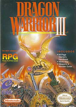 Dragon Warrior III играть онлайн