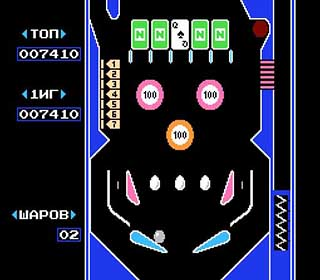Pinball играть онлайн