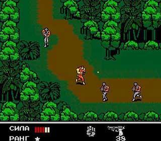 Snake's Revenge играть онлайн