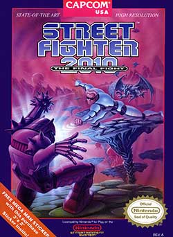 Street Fighter 2010: The Final Fight играть онлайн