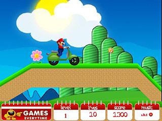 Mario Ride 2 играть онлайн