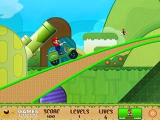 Mario Ride 3 играть онлайн