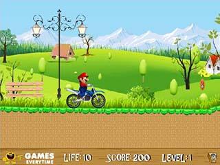 Mario Ride играть онлайн