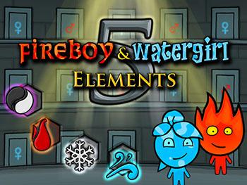 Огонь и Вода 5: Элементы играть онлайн