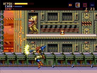 Alien Soldier играть онлайн