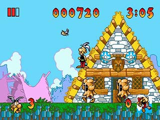 Asterix and the Great Rescue играть онлайн