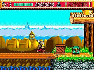 Asterix and the Power of the Gods играть онлайн