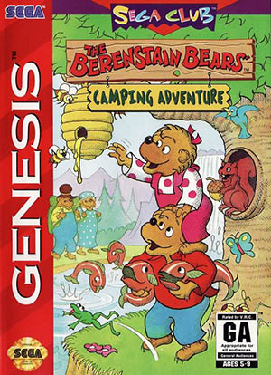Berenstain Bears: Camping Adventure играть онлайн