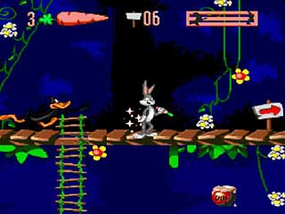 Bugs Bunny In Double Trouble играть онлайн