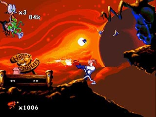 Earthworm Jim 2 играть онлайн