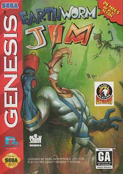 Earthworm Jim играть онлайн