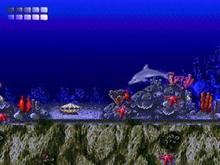 Ecco the Dolphin играть онлайн