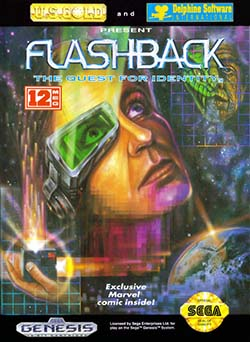 Flashback The Quest for Identity играть онлайн