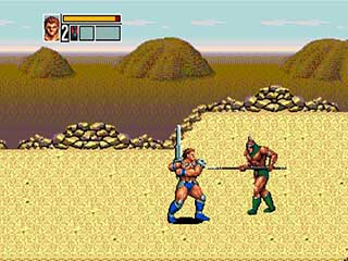 Golden Axe 3 играть онлайн