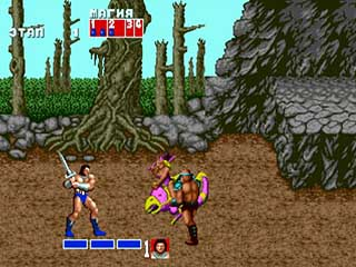 Golden Axe играть онлайн