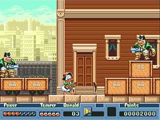 Quack Shot Starring Donald Duck играть онлайн