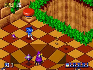 Sonic 3D Blast играть онлайн