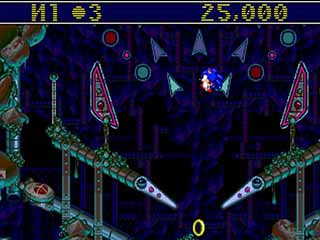 Sonic Spinball играть онлайн