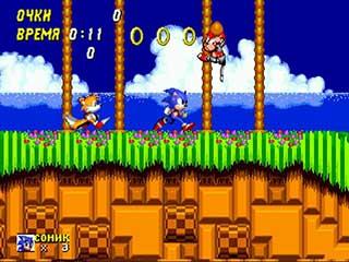Sonic the Hedgehog 2 играть онлайн
