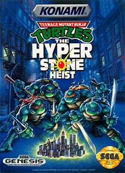 Teenage Mutant Ninja Turtles: The Hyperstone Heist играть онлайн
