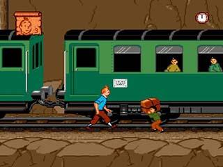 Tintin Au Tibet играть онлайн