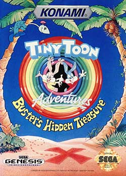 Tiny Toon Adventures - Busters Hidden Treasure играть онлайн