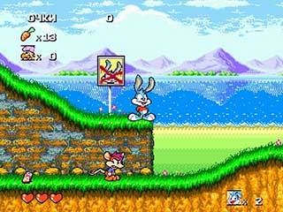 Tiny Toon Adventures играть онлайн