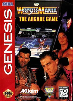 WWF WrestleMania: The Arcade Game играть онлайн